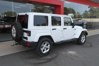 2015 Jeep Wrangler JK MY2015 Overland White 5 Speed Automatic Hardtop