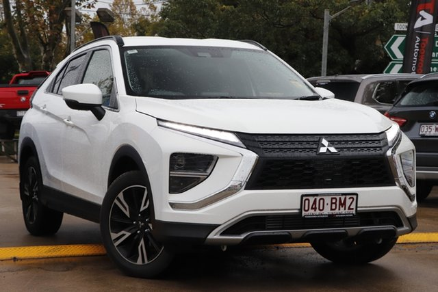 Demo Mitsubishi Eclipse Cross YB MY21 LS 2WD Toowoomba, 2020 Mitsubishi Eclipse Cross YB MY21 LS 2WD White 8 Speed Constant Variable Wagon