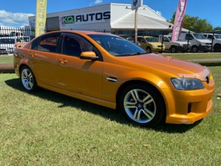 2010 Holden Commodore VE II SV6 Orange 6 Speed Sports Automatic Sedan.