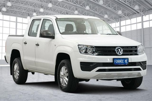 Used Volkswagen Amarok 2H MY17 TDI420 4x2 Victoria Park, 2017 Volkswagen Amarok 2H MY17 TDI420 4x2 White 8 Speed Automatic Utility