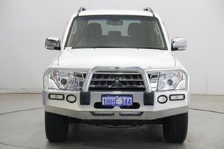 2017 Mitsubishi Pajero NX MY17 GLX White 5 Speed Sports Automatic Wagon.