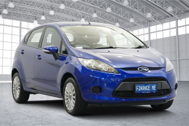 Used Ford Fiesta WT CL PwrShift Victoria Park, 2012 Ford Fiesta WT CL PwrShift Blue 6 Speed Sports Automatic Dual Clutch Hatchback