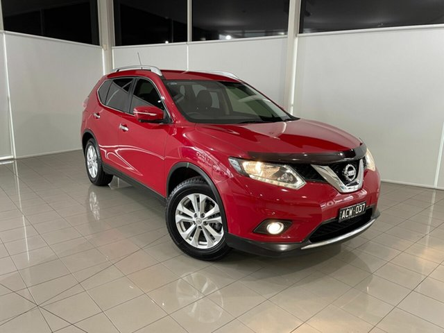 Used Nissan X-Trail T32 ST-L X-tronic 4WD Deer Park, 2014 Nissan X-Trail T32 ST-L X-tronic 4WD Red 7 Speed Constant Variable Wagon