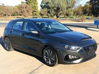 2021 Hyundai i30 PD.V4 MY21 Elite Amazon Gray 6 Speed Sports Automatic Hatchback.