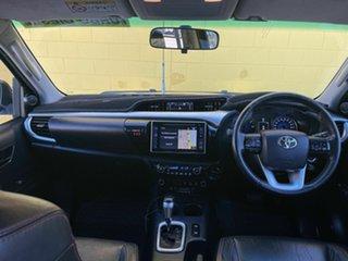 2016 Toyota Hilux GUN126R SR5 Double Cab Black 6 Speed Sports Automatic Utility