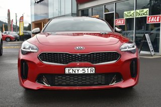 2018 Kia Stinger CK MY18 GT Fastback Red 8 Speed Sports Automatic Sedan
