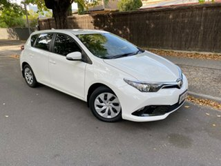 2018 Toyota Corolla ZRE182R Ascent S-CVT White 7 Speed Constant Variable Hatchback.