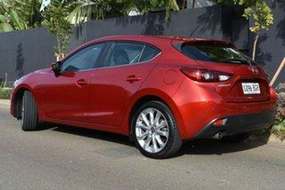 2015 Mazda 3 BM5438 SP25 SKYACTIV-Drive Red 6 Speed Sports Automatic Hatchback.