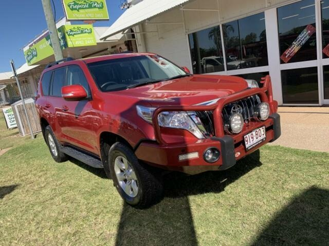 Pre-Owned Toyota Landcruiser Prado GDJ150R MY16 GXL (4x4) Emerald, 2016 Toyota Landcruiser Prado GDJ150R MY16 GXL (4x4) Red 6 Speed Automatic Wagon