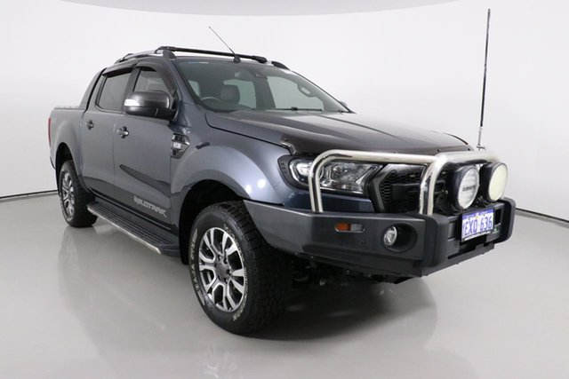 Used Ford Ranger PX MkII Wildtrak 3.2 (4x4) Bentley, 2015 Ford Ranger PX MkII Wildtrak 3.2 (4x4) Grey 6 Speed Manual Dual Cab Pick-up