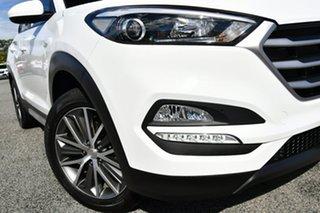 2017 Hyundai Tucson TL MY18 Active X 2WD White 6 Speed Sports Automatic Wagon.