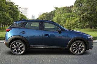 2021 Mazda CX-3 DK2W7A sTouring SKYACTIV-Drive FWD Eternal Blue 6 Speed Sports Automatic Wagon.