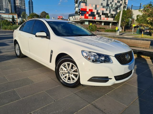 Used Holden Commodore VF II MY17 Evoke South Melbourne, 2017 Holden Commodore VF II MY17 Evoke White 6 Speed Sports Automatic Sedan