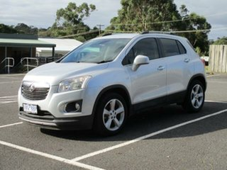 2015 Holden Trax TJ Turbo LTZ Silver Automatic Wagon.