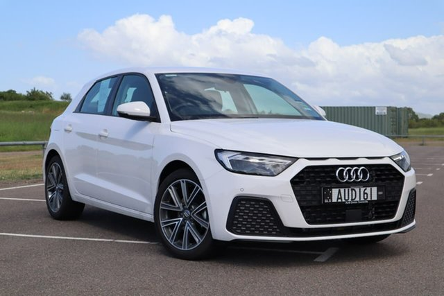 Used Audi A1 GB MY20 30 TFSI Sportback S Tronic Mundingburra, 2020 Audi A1 GB MY20 30 TFSI Sportback S Tronic White 7 Speed Sports Automatic Dual Clutch Hatchback