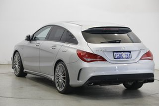 2015 Mercedes-Benz CLA-Class X117 CLA45 AMG Shooting Brake SPEEDSHIFT DCT 4MATIC Silver 7 Speed