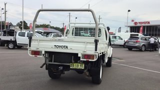 2012 Toyota Landcruiser VDJ79R MY10 Workmate White 5 Speed Manual Cab Chassis.
