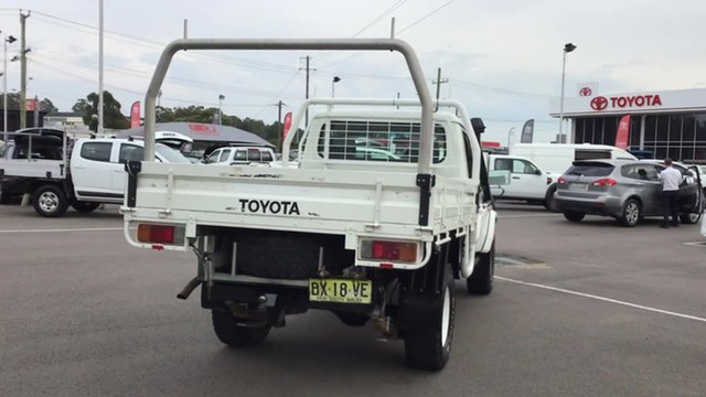 Pre-Owned Toyota Landcruiser VDJ79R MY10 Workmate Cardiff, 2012 Toyota Landcruiser VDJ79R MY10 Workmate White 5 Speed Manual Cab Chassis