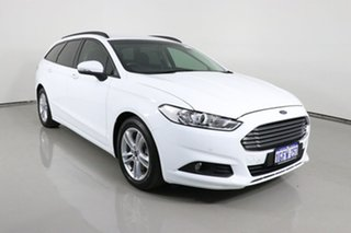 2017 Ford Mondeo MD Ambiente TDCi White 6 Speed Automatic Wagon.