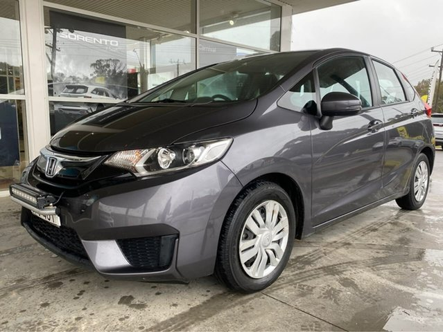 Used Honda Jazz VTi Goulburn, 2016 Honda Jazz VTi Grey Constant Variable Hatchback