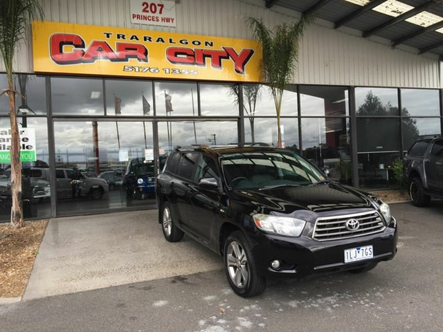 Used Toyota Kluger GSU40R KX-S (FWD) Traralgon, 2009 Toyota Kluger GSU40R KX-S (FWD) Black 5 Speed Automatic Wagon