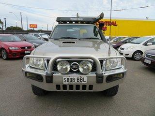 2007 Nissan Patrol GU IV MY07 ST (4x4) Gold 4 Speed Automatic Wagon.