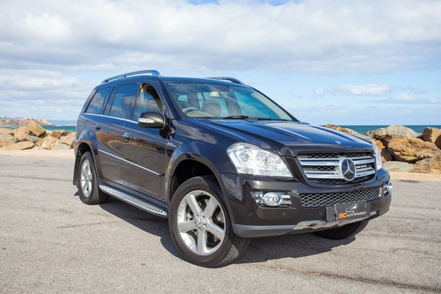 Used Mercedes-Benz GL-Class X164 GL500 Lonsdale, 2007 Mercedes-Benz GL-Class X164 GL500 Black 7 Speed Sports Automatic Wagon
