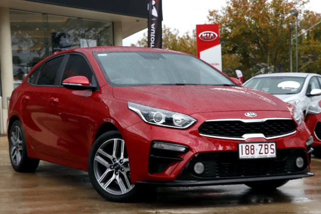 Used Kia Cerato BD MY19 Sport Toowoomba, 2019 Kia Cerato BD MY19 Sport Red 6 Speed Sports Automatic Hatchback