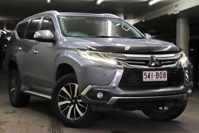 Used Mitsubishi Pajero Sport QE MY16 Exceed Toowoomba, 2016 Mitsubishi Pajero Sport QE MY16 Exceed Grey 8 Speed Sports Automatic Wagon