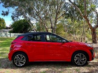 2020 Hyundai Kona Os.v4 MY21 N Line Premium TTR (AWD) Ignite Flame & Black Roof 7 Speed.