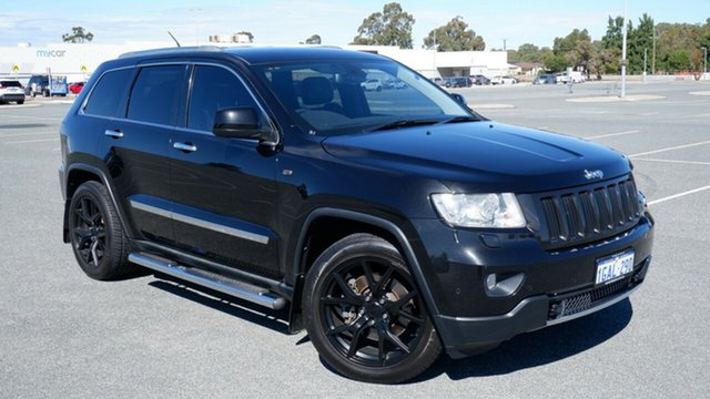Used Jeep Grand Cherokee WK MY2011 Limited Maddington, 2011 Jeep Grand Cherokee WK MY2011 Limited Black 5 Speed Sports Automatic Wagon