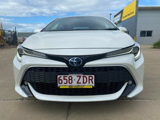 2019 Toyota Corolla ZWE211R ZR E-CVT Hybrid White/240919 10 Speed Constant Variable Hatchback Hybrid