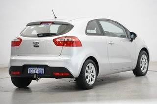 2013 Kia Rio UB MY13 S Bright Silver 4 Speed Sports Automatic Hatchback