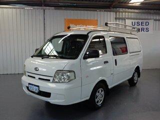 2004 Kia Pregio CT2 MY05 White 5 Speed Manual Van.