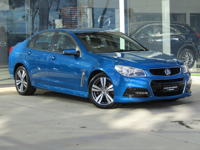 Used Holden Commodore VF MY14 SS Ravenhall, 2013 Holden Commodore VF MY14 SS Blue 6 Speed Sports Automatic Sedan