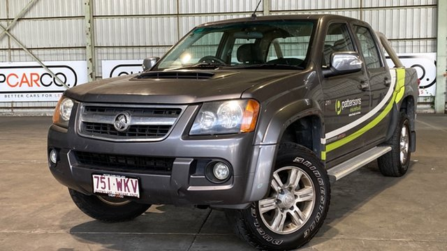 Used Holden Colorado RC MY11 LT-R Crew Cab Rocklea, 2011 Holden Colorado RC MY11 LT-R Crew Cab Grey 4 Speed Automatic Utility