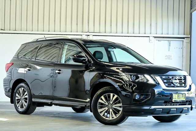 Used Nissan Pathfinder R52 Series II MY17 ST X-tronic 4WD Laverton North, 2017 Nissan Pathfinder R52 Series II MY17 ST X-tronic 4WD Black 1 Speed Constant Variable Wagon
