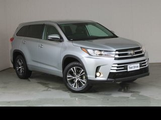 2019 Toyota Kluger Silver Automatic Wagon.
