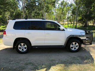 2016 Toyota Landcruiser VDJ200R MY16 GXL (4x4) Glacier White 6 Speed Automatic Wagon.