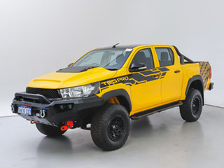 2016 Toyota Hilux GUN125R Workmate (4x4) Yellow 6 Speed Automatic Dual Cab Utility.