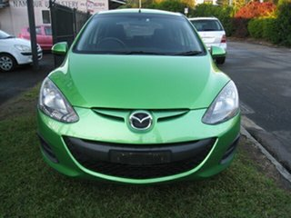 2011 Mazda 2 DE MY10 Neo Green 4 Speed Automatic Hatchback.
