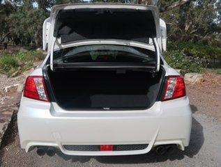 2012 Subaru Impreza G3 MY12 WRX STi AWD Spec R White 6 Speed Manual Sedan