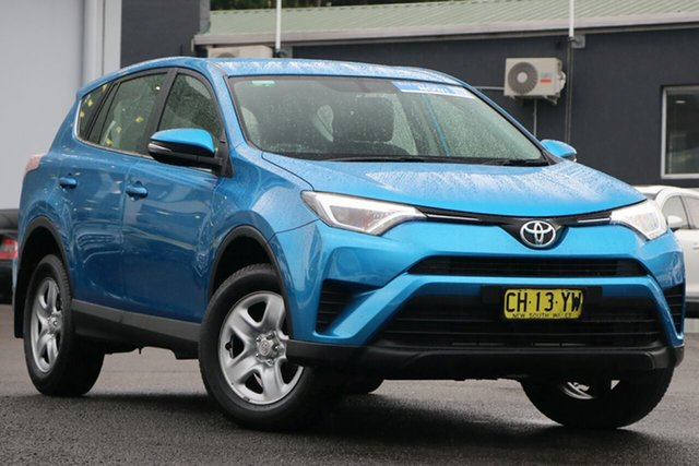 Pre-Owned Toyota RAV4 ZSA42R GX 2WD Brookvale, 2016 Toyota RAV4 ZSA42R GX 2WD Blue 7 Speed Constant Variable Wagon