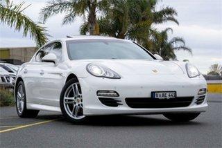 2010 Porsche Panamera 970 S Carrara White Sports Automatic Dual Clutch Sedan.