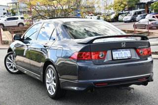 2007 Honda Accord 7th Gen MY07 V6 Luxury Grey 5 Speed Automatic Sedan.