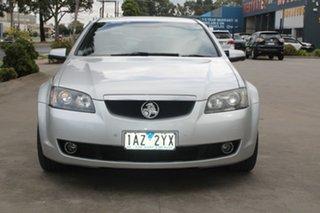 2009 Holden Calais VE MY10 V Silver 6 Speed Automatic Sedan.