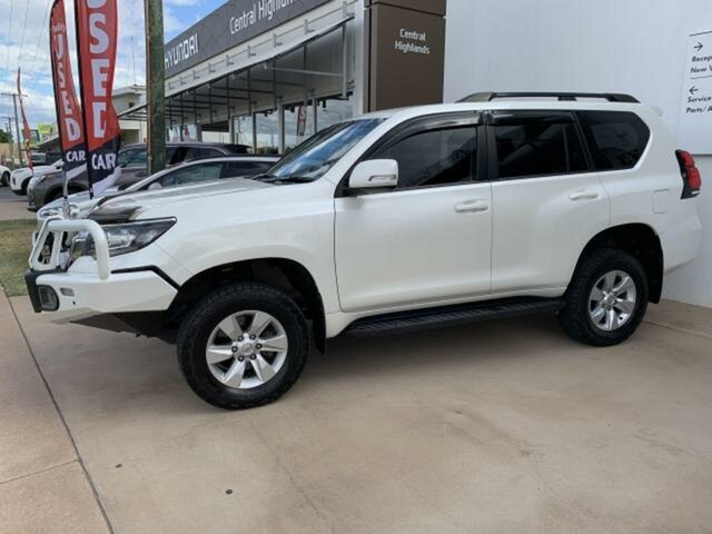 Pre-Owned Toyota Landcruiser Prado GDJ150R MY17 GXL (4x4) Emerald, 2017 Toyota Landcruiser Prado GDJ150R MY17 GXL (4x4) White 6 Speed Automatic Wagon