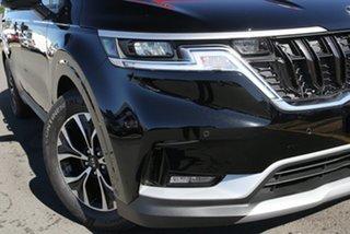 2021 Kia Carnival KA4 MY21 SLi Aurora Black 8 Speed Sports Automatic Wagon.