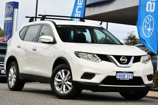 Used Nissan X-Trail T32 ST X-tronic 4WD Melville, 2016 Nissan X-Trail T32 ST X-tronic 4WD White 7 Speed Constant Variable Wagon