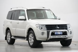 2010 Mitsubishi Pajero NT MY10 RX White 5 Speed Sports Automatic Wagon